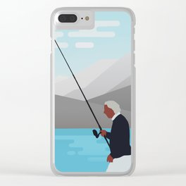 THE SCENERY Clear iPhone Case