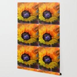 Sunflowers Art Wallpaper