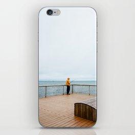 Coney Island Pier: Gone Fishing iPhone Skin