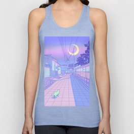 Kyoto Nights Unisex Tank Top