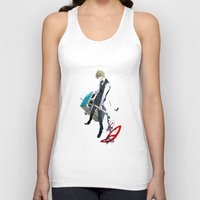 durarara Tank Tops featuring Heiwajima Shizuo 1 by Prince Of Darkness