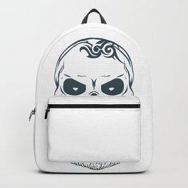 Fear the beard - Halloween Hipster Backpack