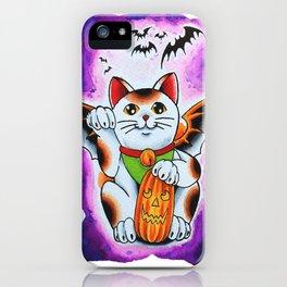 Halloween Cat iPhone Case