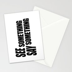 See Something Say Something Stationery Cards