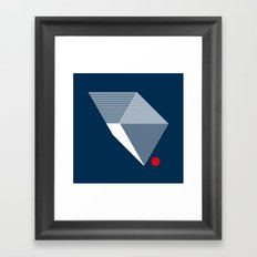 V like V Framed Art Print