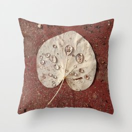 LEAVES GO 05 Throw Pillow