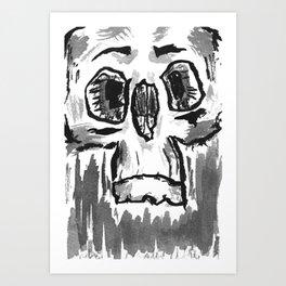 Skulls - series 2 Art Print