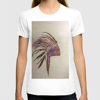 native T-shirts featuring Native  by Emily Bingham
