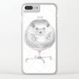 David petit Roi (LG-rose-02) Clear iPhone Case