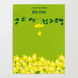 No993 My Big Fish minimal movie poster Poster