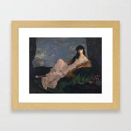 Ignacio Pinazo Camarlench Framed Art Print