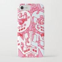 hong kong iPhone & iPod Cases featuring Hong Kong by René Barth