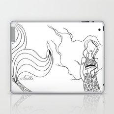 Floral Mermaid Laptop & iPad Skin