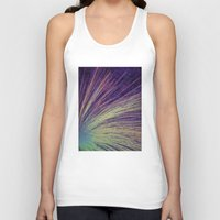 fireworks Tank Tops featuring Fireworks by Françoise Reina
