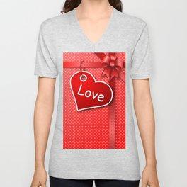 Valentine's  Gift G274 Unisex V-Neck