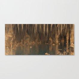 Drach Caves.  Mallorca Canvas Print