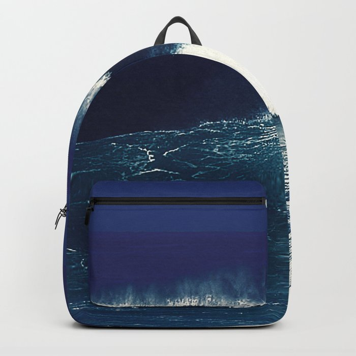 the wave Backpack