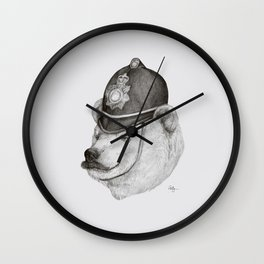 Bearly Legal Wall Clock