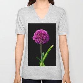 Allium in art Unisex V-Neck