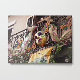 Krewe of Cork Metal Print