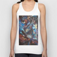 "courage Tank Tops featuring ""Courage"" by Kasia Pawlak"