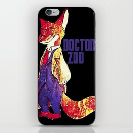 "Doctor Zoo: ""Zootopia""/""Doctor Who"" Crossover iPhone Skin"