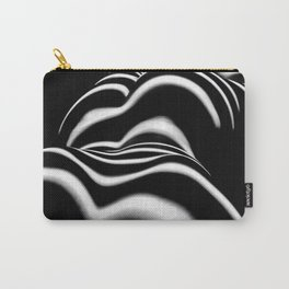 8897-SLG Female Curves Sensual Flowing Lines of Light Reveal Feminine Energy Carry-All Pouch