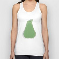 pear Tank Tops featuring Pear by Oh! My darlink