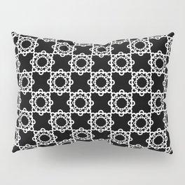 "Art Deco. "" Lola ""  black background . Pillow Sham"