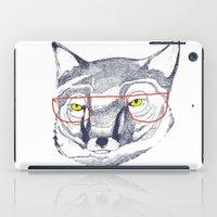 mr fox iPad Cases featuring Mr Fox by Ashley Percival illustration