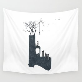 big city life (part 2 of 3) Wall Tapestry