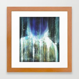 Something's wrong. No place left to hide. Framed Art Print