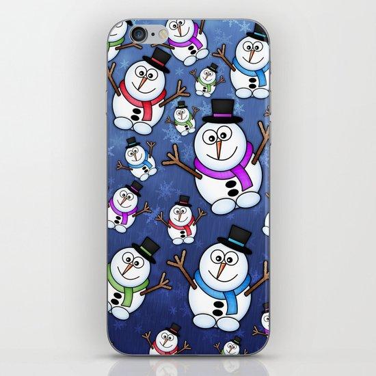Frosties The Snowmen. iPhone & iPod Skin