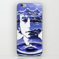 dylan iPhone & iPod Skins featuring Dylan by Alex Carlson