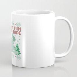 Quad Biking Christmas Coffee Mug