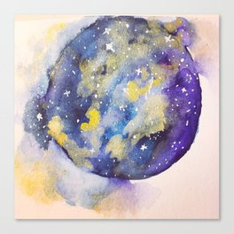 Smokey Galaxy Canvas Print