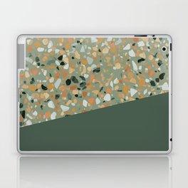 Terrazzo Texture Military Green #4 Laptop & iPad Skin