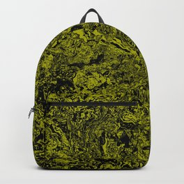 Green and Black Marble #sellart #society6 Backpack