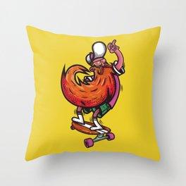 Skateboarders, entertainments Throw Pillow