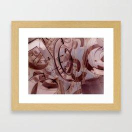 NegaTrips Framed Art Print