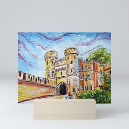 Norman Gate, Windsor Mini Art Print