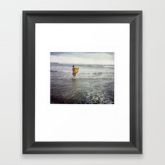 Costa Rica Polaroid #35 Framed Art Print