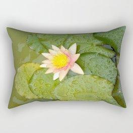 Lily-Livered Scoundrel Rectangular Pillow