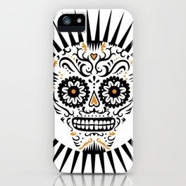 Sugar Skull SF - white iPhone Case