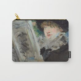 """Édouard Manet """"Woman Reading"""" Carry-All Pouch"""