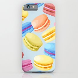 Watercolor Macaroons iPhone Case