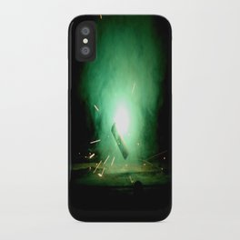 Straight To The Source iPhone Case