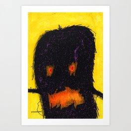 Thread Monster Art Print