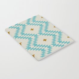 NATIVE NATURAL PLUS TURQUOISE Notebook