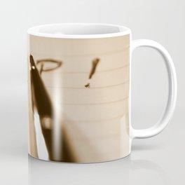 Pen Help Sepia Coffee Mug